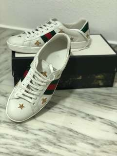 Gucci Ace Bee and Star
