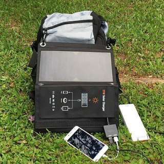 Outdoor Solar Charger Panel - Pre-order online only