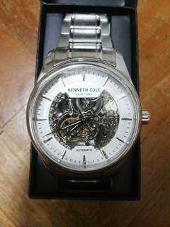 Kenneth Cole Automatic Skeleton Watch
