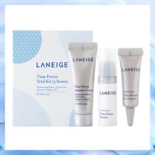 Laneige Time Freeze Trial Kit (3items)