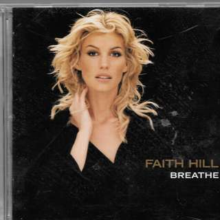 MY PRELOVED NEAR MINT CD- FAITHHILL - BREATHE /FREE DELIVERY (F9Z)