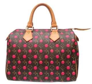 Authentic Louis Vuitton Cherry Speedy 25
