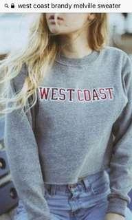Brandy Melville West Coast Sweater/Sweatshirt