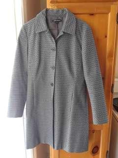 Size 6 Mario Serrani Long blazer/coat