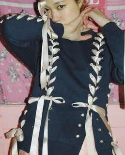 ✨粉紅絲帶衛衣👚✨