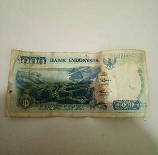 UANG KUNO Rp 1000 TAHUN 1992