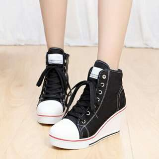 Sneakers Wedge Rubber Shoes