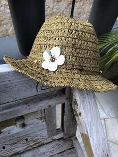Girl Straw Hat
