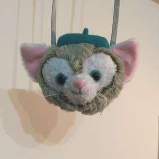🚚 東京迪士尼 Gelatoni 吉拉東尼畫家貓 零錢包 車票夾