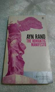 Ayn Rand's The Romantic Manifesto
