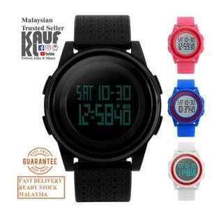 Jam Tangan Ori SKMEI 1206 Unisex Sport Casual Fashion Digital Watch