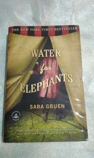Sara Gruen's Water for Elephants