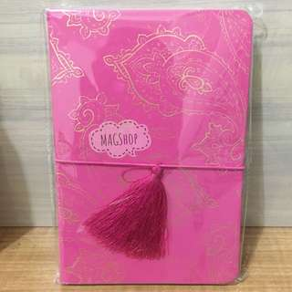 The pink notebook / diary