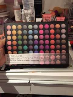 88 Shimmer Eyeshadow Palette from BH Cosmetics