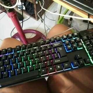 LED GAMING Keyboard