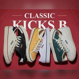 🎊FILA CLASSIC KICKS B帆布鞋🎊 韓國🇰🇷代購 阿妞哈塞呦