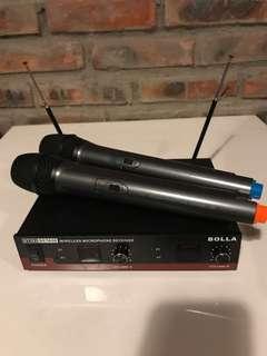 卡啦ok 無線咪 mic