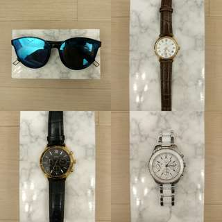 Watches/sunglasses hk$40up