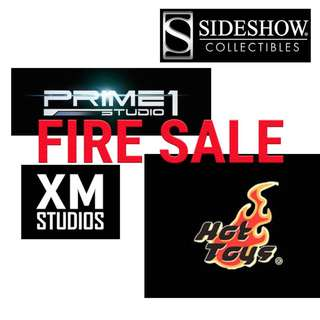 >> [FIRE SALES OF SIDESHOW, PRIME 1, HOT TOYS, XM STUDIOS] <<