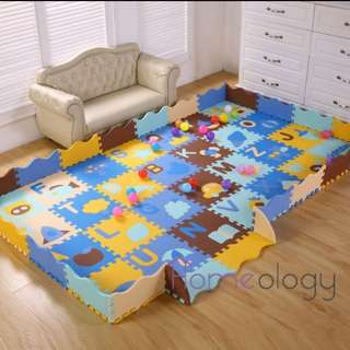 Baby floor play mat 3D puzzle kids playground infant jigsaws playmat
