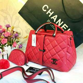 Tas batam bag chanel lidah import murah