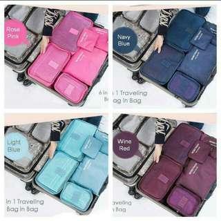Travel bag 6in1