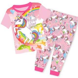 Kids Pyjamas unicorn Pyjamas