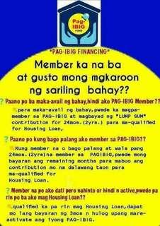 Pag ibig member o hindi pwede mag apply!!