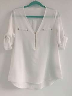 White blouse S-M