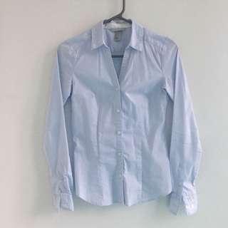 Blue H&M shirt size 34