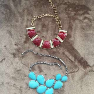 Women's fashion necklace 2 for 5