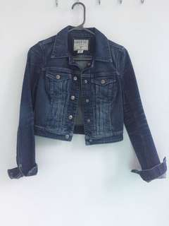 Guess Jean  cropped Jacket XS