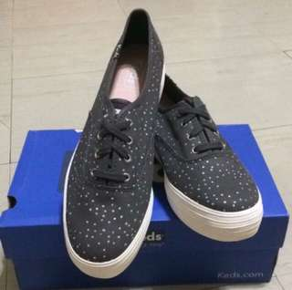 Brandnew Authentic Keds Triple Night Showers Slate With box