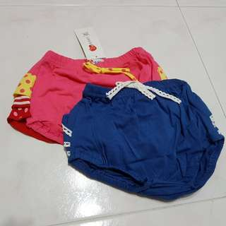 Brand new - Girl bloomers/ pants (Size 95 & 100)