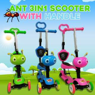 3 in 1 Ants Scooter