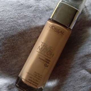 L'oreal True Match Foundation in G4