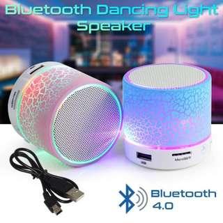 Wireless Mini Bluetooth Speaker LED light music soundbox