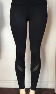 New yoga and fitness mesh pants sizes are small and medium
