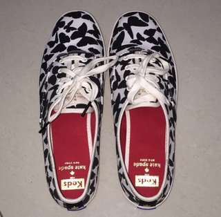 Brand New 100% Authentic/Original Keds x Kate Spade New York Black Champion Butterfly!