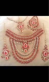 Pakistani jewellery set