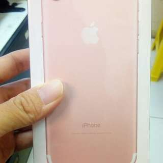 Kredit iphone 7 32GB Rose proses mudah.