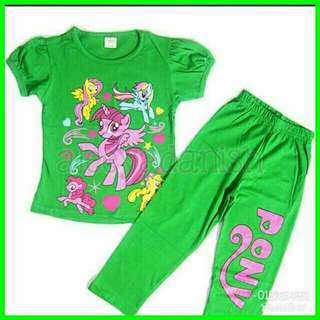 pyjamas little pony