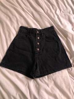 High waster shorts