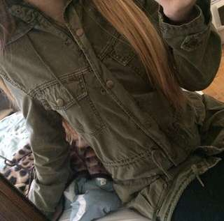 Talula Army Green Jacket