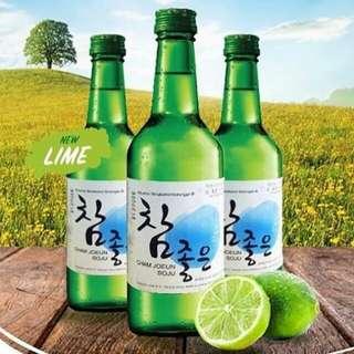 Soju Cham Joeun Lime