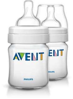 Phillips Avent classic feeding bottles
