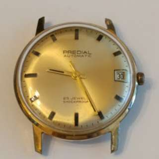 (不議價 Final Price) Vintage PREDIAL Automatic Watches 古董手錶