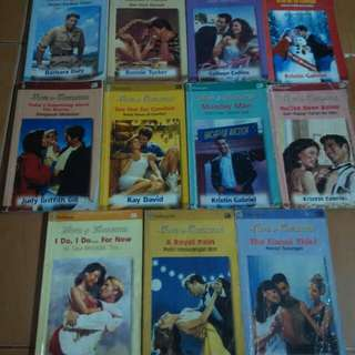 Novel Harlequin LOVE & LAUGHTER Series