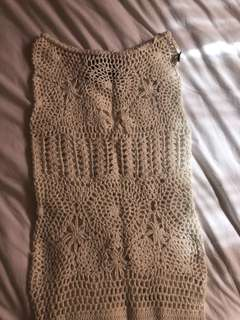 Crochet dress/skirt