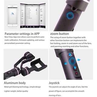Feiyu SPG ( Splash Proof and Changeable Batt.) 📌Free delivery to your Mrt location. 📌18 Months local manufacturer warranty.👍Special Promotion from 01-31 Apr ( 5  set Left)📌📌Without Warranty Cheaper
